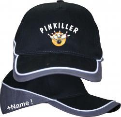 Bowling basecap Pinkiller Bowlingspieler Vereinssport Striker Kopfbedeckung