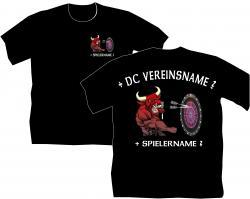 T-Shirt Dart Stier Bulle bedruckte T-Shirt Polos jacken Herrenshirts Darter