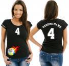 Girlie-Shirt Volleyball Motiv 15