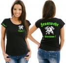 Girlie-Shirt Feuerwehr Motiv 2
