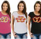 Girlie-Shirt Junggellenabschied Motiv 6